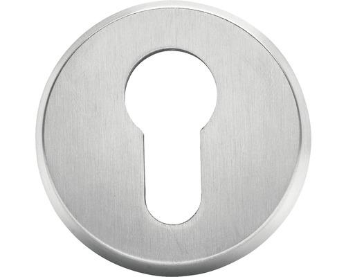 Rosace de protection ronde cylindre profilé Ø 54 mm acier inoxydable
