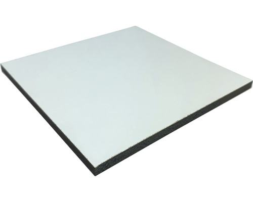 Panneau compact blanc dimensions fixes 800x600x3mm