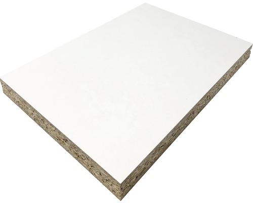 Fixmaß Spanplatte weiß 1600x600x10 mm