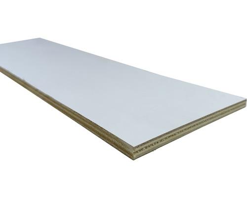Contreplaqué peuplier un côté blanc dimensions fixes 1200x600x8 mm-0
