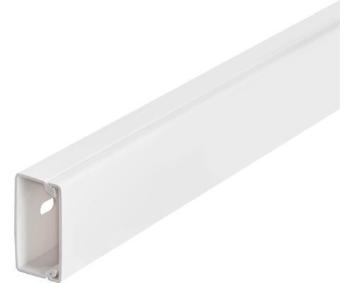 Conduite de câbles lxh30x15mm blanc pur 2m-0