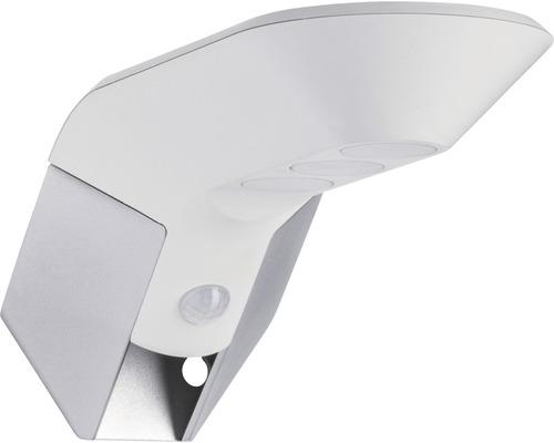 Applique murale solaire à capteur à LED IP44 1,22W 150lm 3000K blanc chaud Soley blanc Hxlxp 100x104x240mm