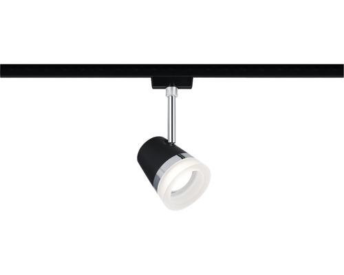 Spot Cone URail Paulmann 1 ampoule noir mat 230V