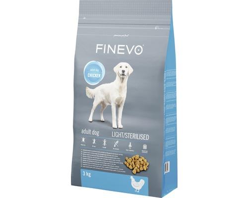 Hundefutter trocken Sterilised Dog FINEVO Huhn 3 kg