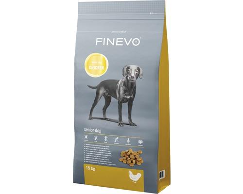 Hundefutter trocken Senior Dog FINEVO Huhn 15 kg