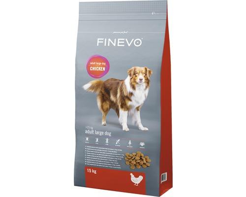 Hundefutter trocken Adult Dog L FINEVO Huhn 15 kg