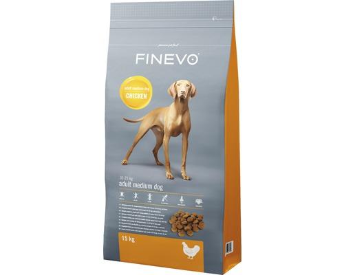 Hundefutter trocken Adult Dog M FINEVO Huhn 15 kg