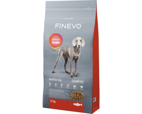 Hundefutter trocken Sensitive Dog FINEVO Lachs getreidefrei 12 kg