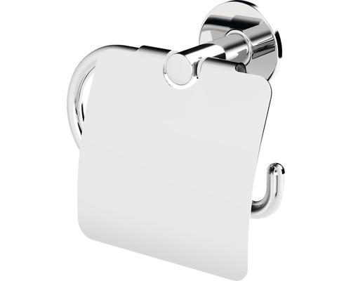 Support de papier toilette avec couvercle Lenz VIDA chrome