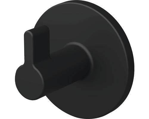 Crochet pour serviette Lenz NERO noir