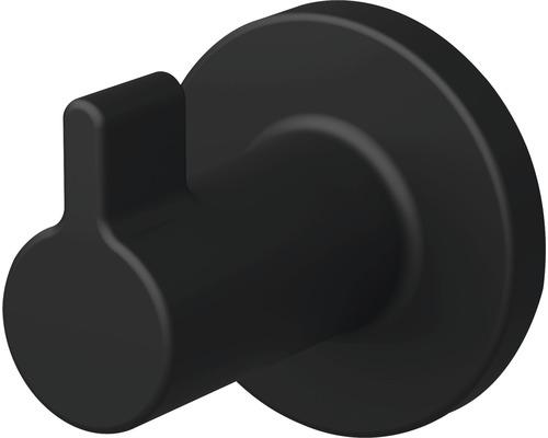 Crochet pour serviette Lenz NERO noir lot de 2