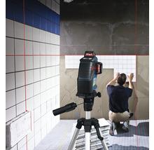 Linienlaser Bosch Professional GLL 3-80 inkl. 4 x Batterie (AA), Laserzieltafel im Handwerkerkoffer-thumb-1