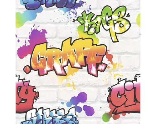 Papier peint 272901 Kids&Teens 3 graffiti gris