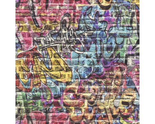 Papier peint 213201 Kids&Teens 3 graffiti bleu