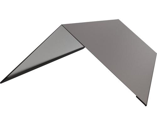 PRECIT Dachfirst gerade für Trapezblech T18 anthracite grey RAL 7016 1000 x 188 x 0,5 mm