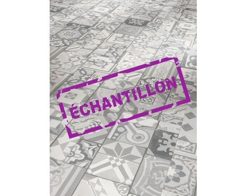 Échantillon sol vinyle 9.6 Ornamentic Grey