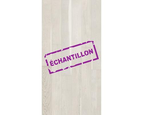 Échantillon parquet 14.0 chêne crème plancher de maison de campagne peinture matte brossée