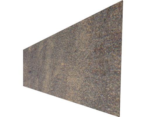 Profilé simple Stonefen céramique, aspect rouille