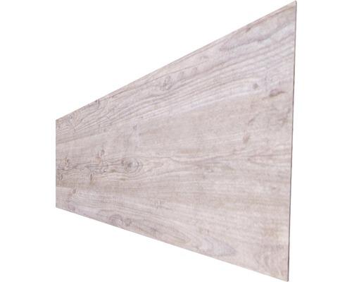 Profilé simple HPL, aspect bois, 45x180cm