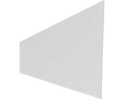 Profilé simple HPL, gris uni, 45x180cm