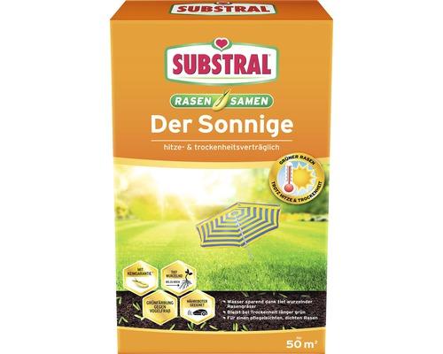 Graines de gazon ''Der Sonnige'' Substral pour emplacements ensoleillés et secs 1,125kg pour 50 m²