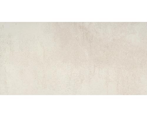 Carrelage pour mur et sol en grès cérame fin Manufacture Marfil Lappato beige 75x150cm