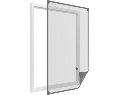 Moustiquaire cadre magnétique pour fenêtre home protect anthracite 100x120cm