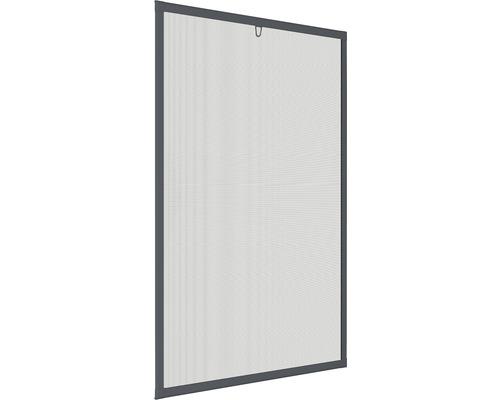 Moustiquaire cadre de fenêtre en alu home protect anthracite 130x150cm