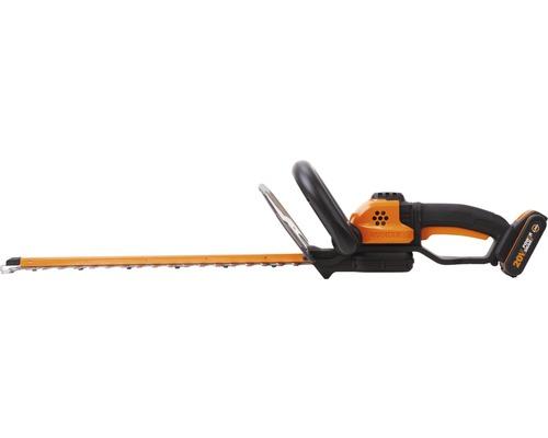 Taille-haies à batterie WORX WG261E avec batterie et chargeur