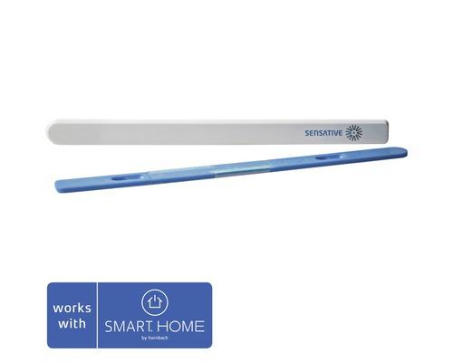 Détecteur de température et d'humidité Senderip pour l'intérieur + l'extérieur compatible avec le système all SMART HOME by hornbach