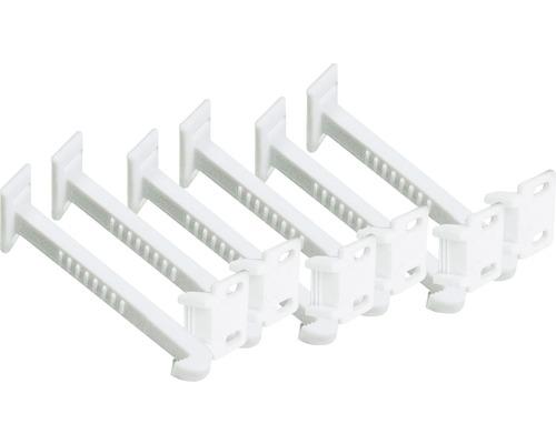 Crochets de sécurité pour tiroirs et portes d''armoire 6 unités