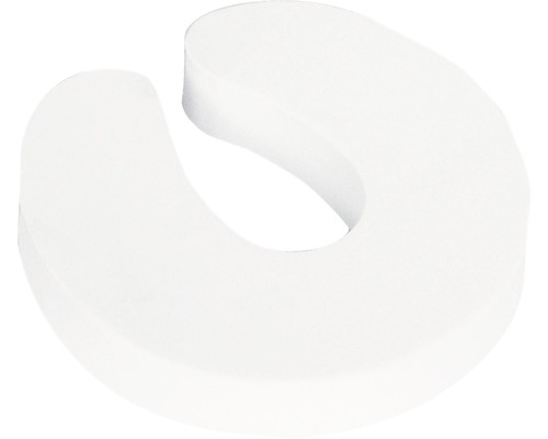 Butoir de porte à enficher blanc