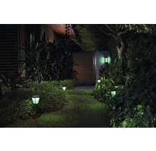 Applique murale LED Philips hue Econic White & Color Ambiance 15 W 1 150 lm noir H 301 mm-thumb-4