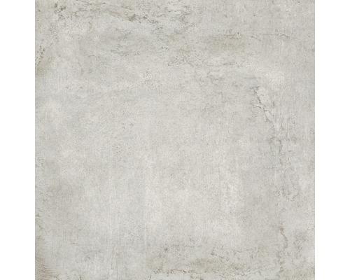 Dalle de terrasse en grès cérame fin Works gris clair 60 x 60 x 2 cm R11 B