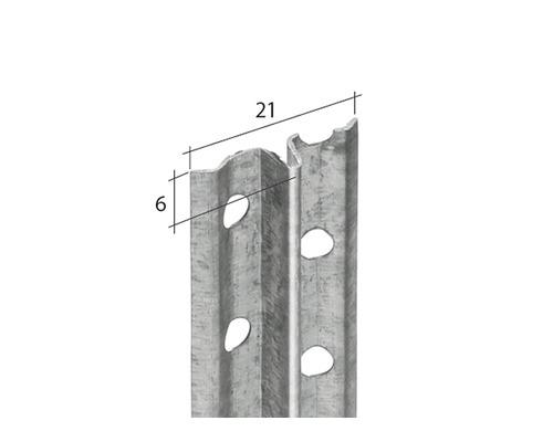 Profilé pour enduit à prise rapide 6 mm, longeur 2.50 m