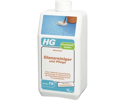Nettoyant lustrant d''entretien pour sol en plastique Hg 1000ml-0