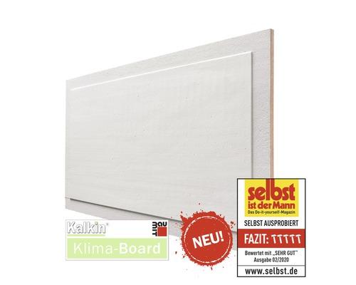 Baumit Kalkin KLIMA Board, panneau en fibres de bois avec revêtement à la chaux, 1150 x 625 x 25mm palette de 15pièces