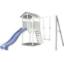 Tour de jeux Beach Tower en bois avec balançoire simple-thumb-0