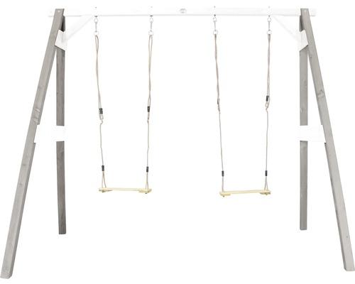 Balançoire double Axi bois gris