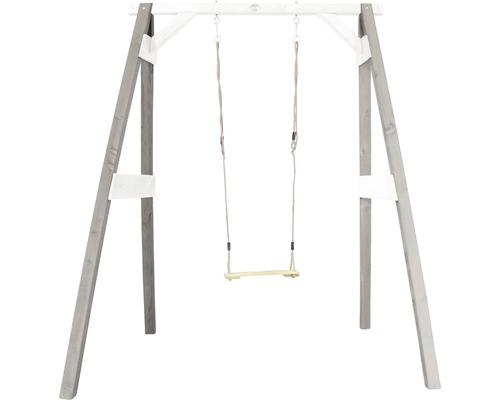Balançoire simple bois gris