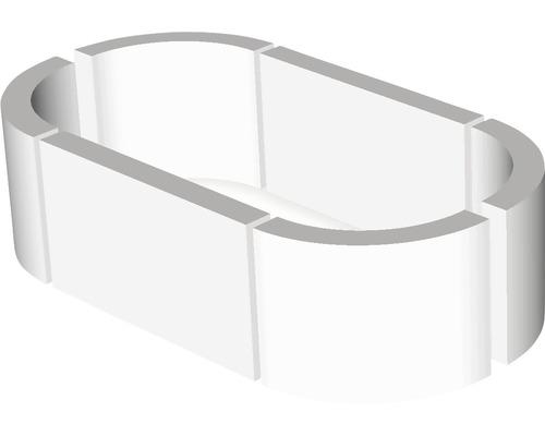 Tablette de pourtour ovale pour OF Circulu 113,2 x 197,4 cm