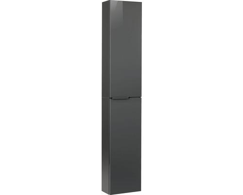 Armoire haute Fackelmann LUNA slim 30x162cm anthracite 87214