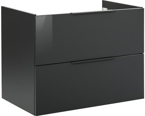 Waschtischunterschrank Fackelmann LUNA 80x60,5 cm anthrazit 87201