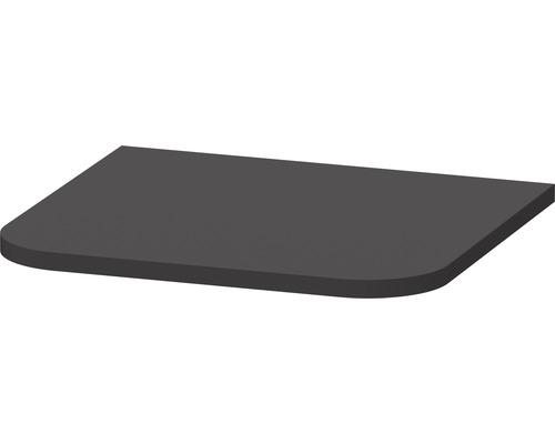 Plaque de recouvrement DURAVIT Happy D.2 Plus pour armoire mi-haute graphite