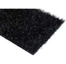 Gazon synthétique Happy noir largeur 400 cm (au mètre)-thumb-0