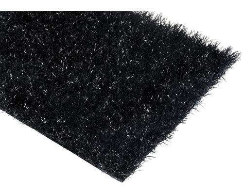 Gazon synthétique Happy noir largeur 200 cm (au mètre)