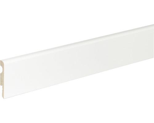 Plinthe blanche 10x58x2400mm