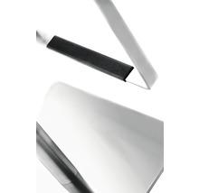 Barhocker Mayer Sitzmöbel myBreak 1260E-37 36x40x87-110 cm Gestell edelstahl Sitz schwarz-thumb-1