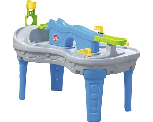 Table de jeu enfant Step2 Ball Buddies Truckin & Rollin plastique gris bleu