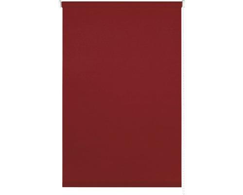 Store tamisant uni rouge 100x175 cm